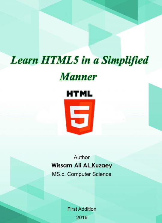 كتاب Learn HTML5 in a Simplified Manner