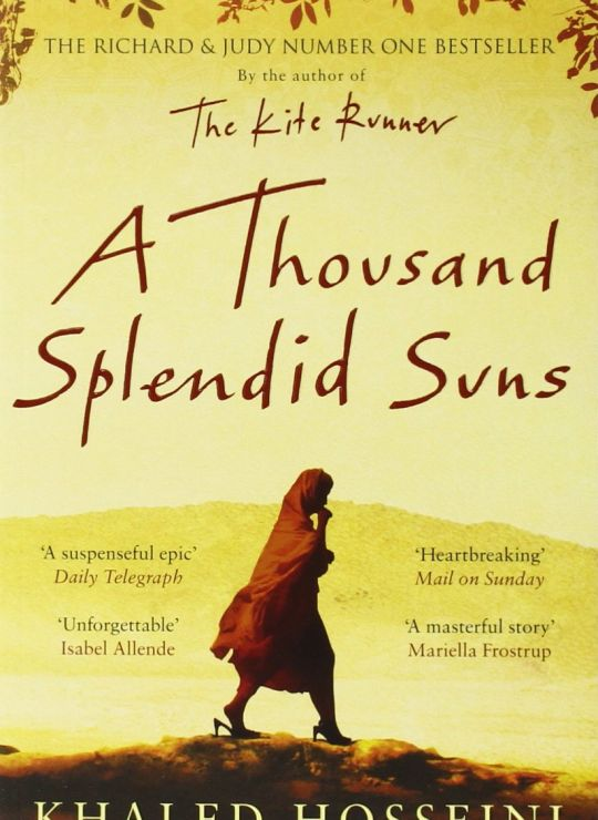 كتاب A Thousand Splendid Suns